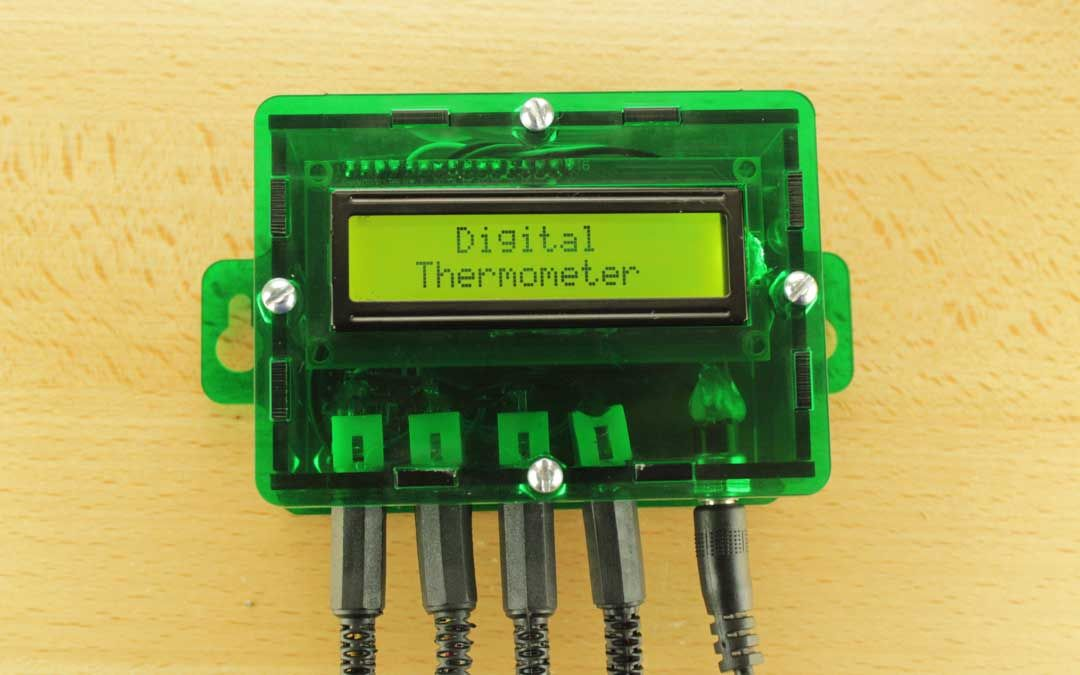 Termómetro con Arduino y DS18B20