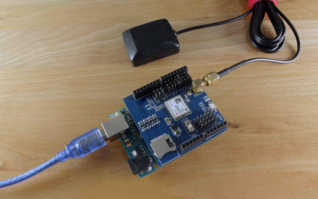 Shield O Módulo Gps Con Arduino Introducción Geek Factory