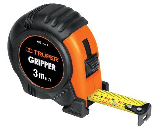 Flexómetro con Gripper contra impacto