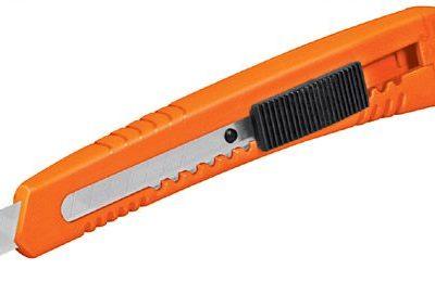 Cutter de plástico 9 mm Truper