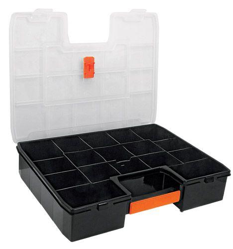 Organizador de plástico con asa 14 pulgadas