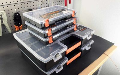 Organizadores de plástico para electrónica: Productos nuevos