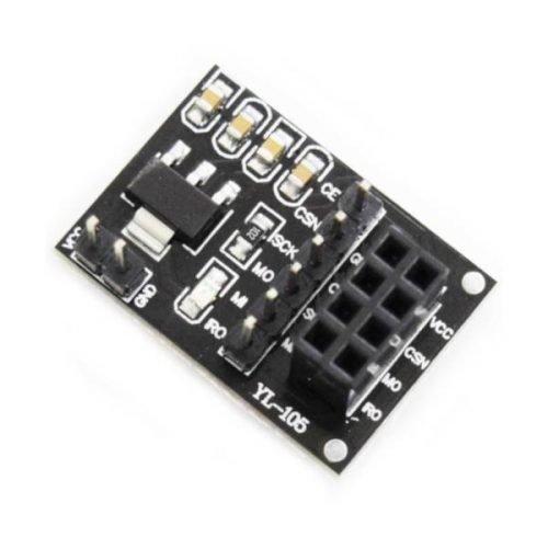 Adaptador con regulador para módulo NRF24L01+