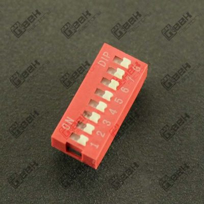 Dip Switch de 8 posiciones