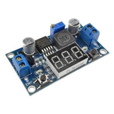 Convertidor dc-dc step-down con voltimetro