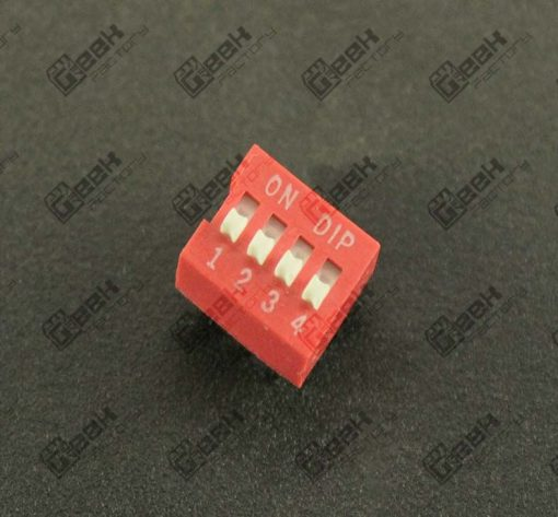 DIP Switch de 4 posiciones