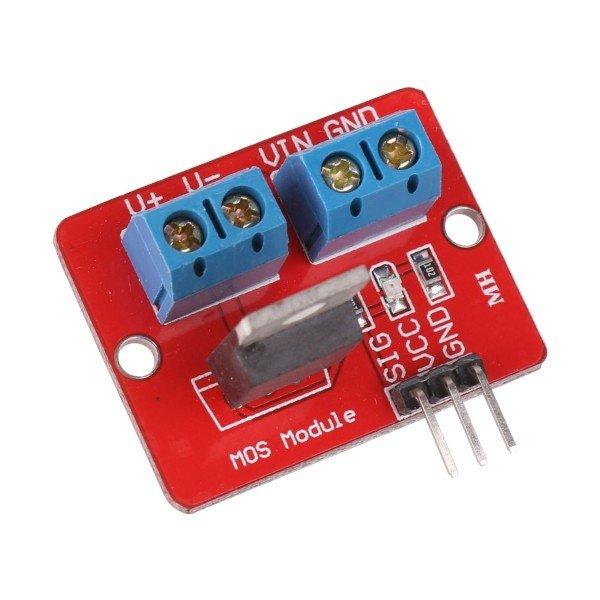 Módulo con MOSFET IRF520N