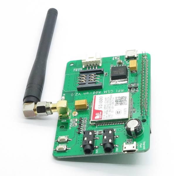 Hat Raspberry Pi GSM GPRS SIM800