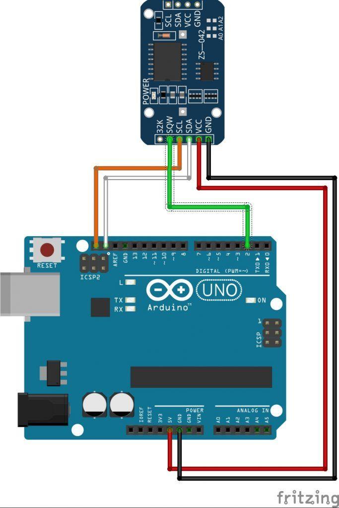 Conexion arduino con RTC DS3231