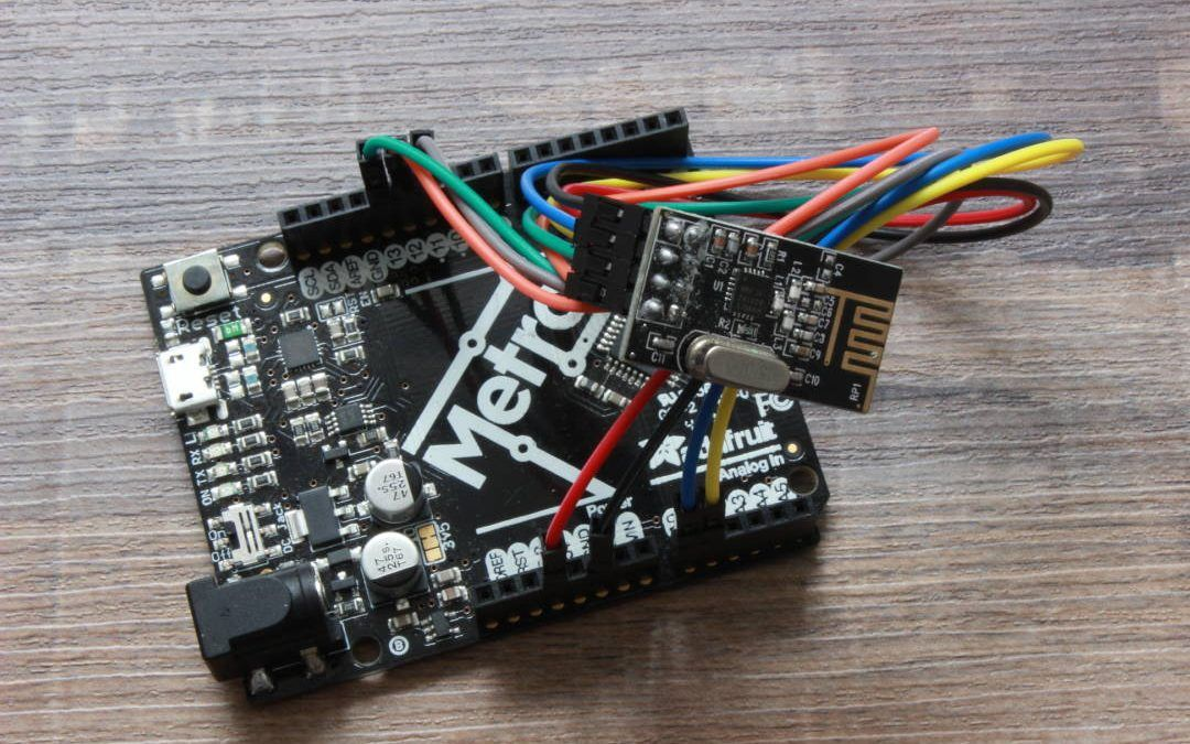 NRF24L01 comunicación de dos arduino por radiofrecuencia