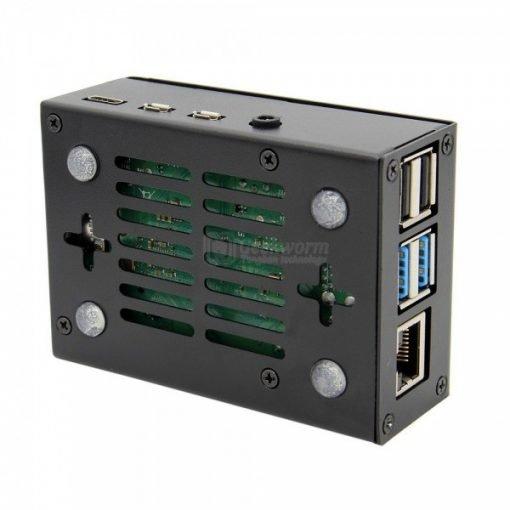 Carcasa metálica con ventilador para Raspberry Pi 4 DFRobot