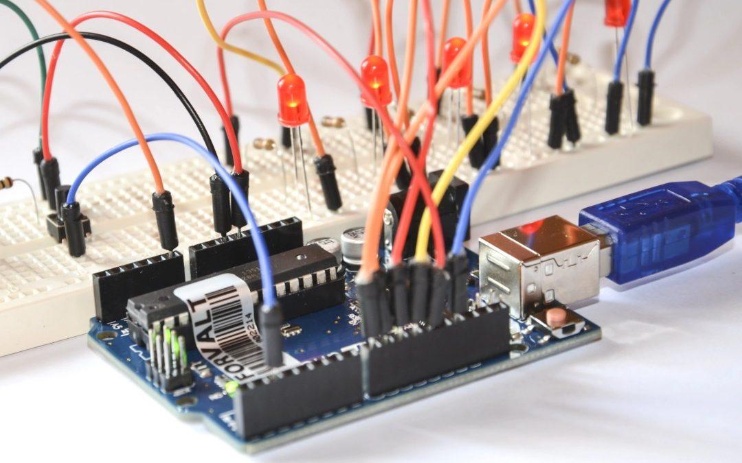 Salidas digitales en la placa Arduino