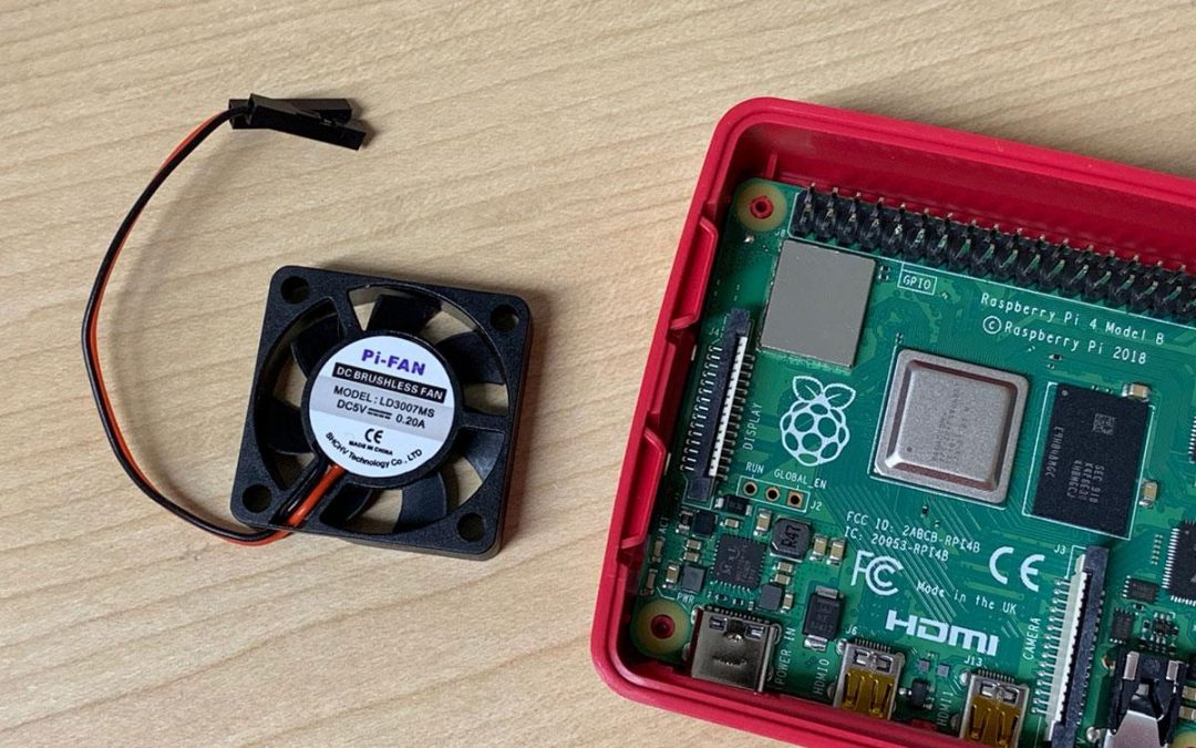 Conectar ventilador al Raspberry Pi 4