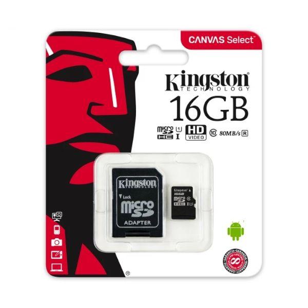 Memoria micro SD 16 GB para Raspberry Pi o Arduino