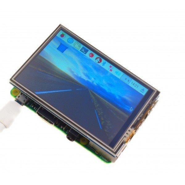 Pantalla LCD táctil para Raspberry Pi