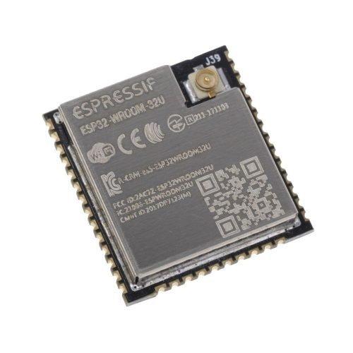ESP32-WROOM-32U Módulo WiFi y Bluetooth BLE conector uFL