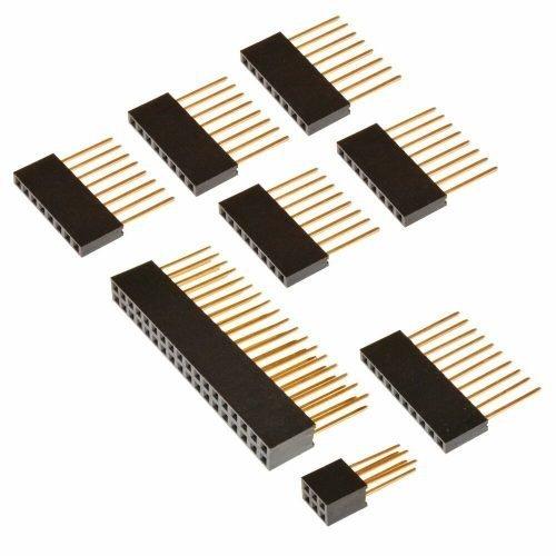 kit de headers apilables para Arduino Mega