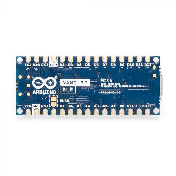 Arduino Nano 33 BLE - reverso