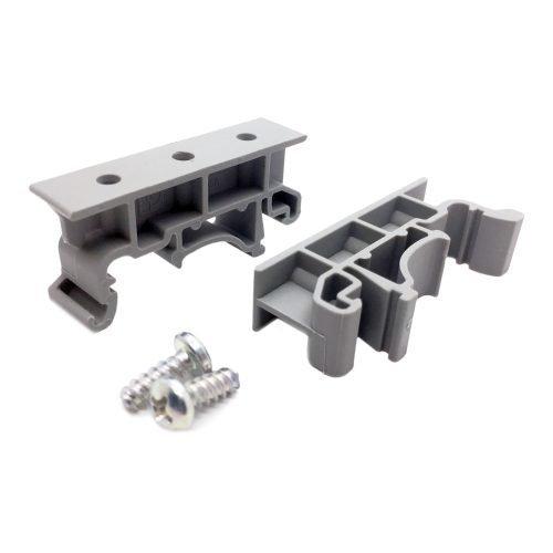 Brackets para montaje en riel DIN para circuito impreso
