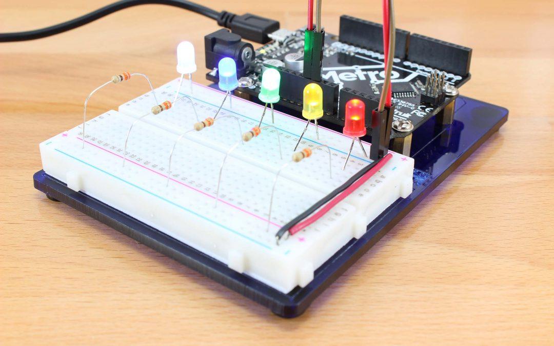 ctar un led a tu Arduino