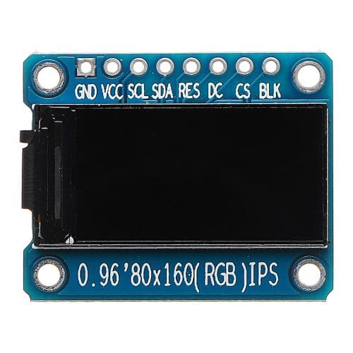 Display LCD de 0.96 pulgadas SPI ST7735S