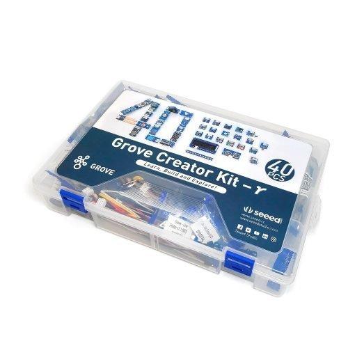 Grove Creator Kit 40 piezas: Kit de módulos y sensores para Arduino