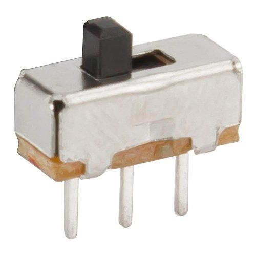 Interuptor deslizable miniatura un polo dos tiros SPDT