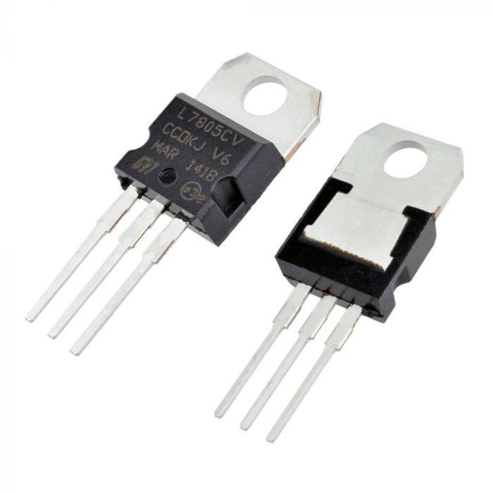 LM7805 regulador de voltaje 5V 1A TO-220