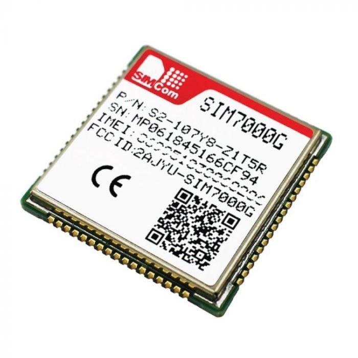 Módulo SMD SIM7000G LTE-M NB-IoT GPS