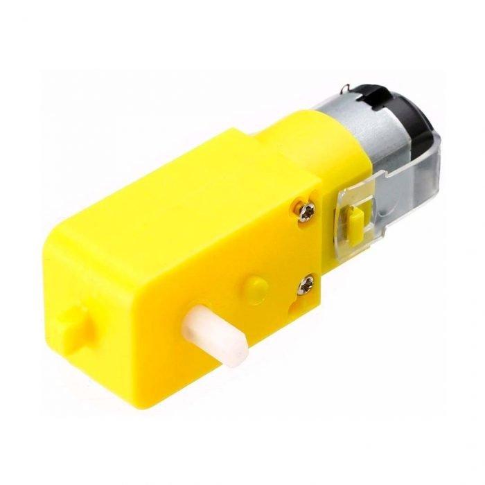 Motorreductor amarillo 48:1 alimentación de 3 a 9 volts