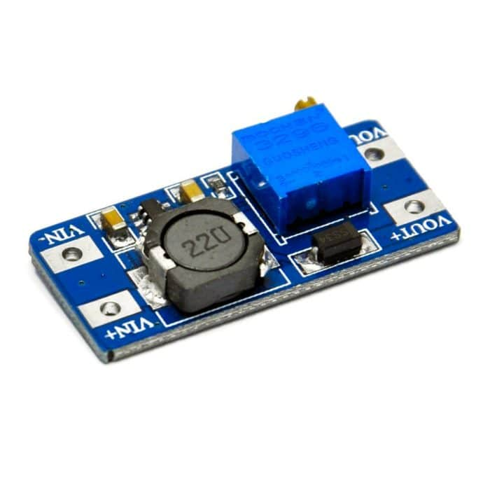 MT3608 Elevador de voltaje boost step up 6W 2A
