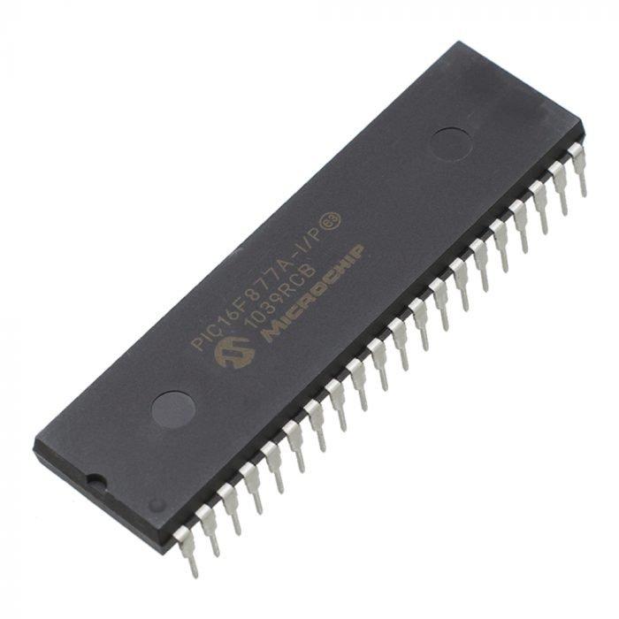 PIC16F877A Microcontrolador PIC 8 bits Microchip
