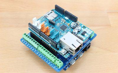Preparación del shield de borneras para Arduino