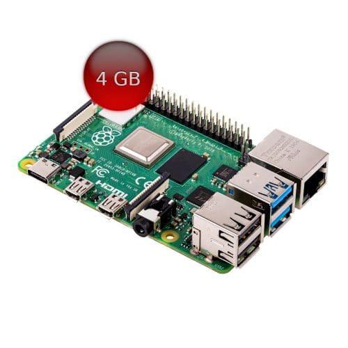 Raspberry Pi 4 - 4 GB RAM modelo B