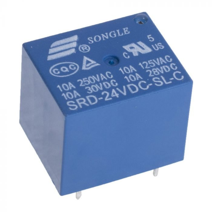 Relevador 24 volts SRD-24VDC-SL-C