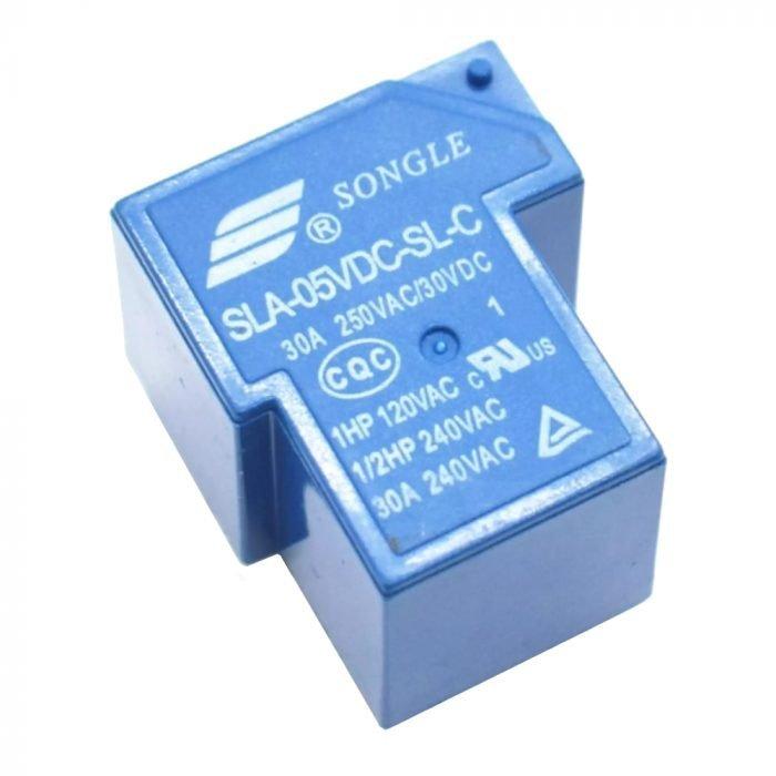 SLA-05VDC-SL-C Relevador 30 A 250 V bobina 5V